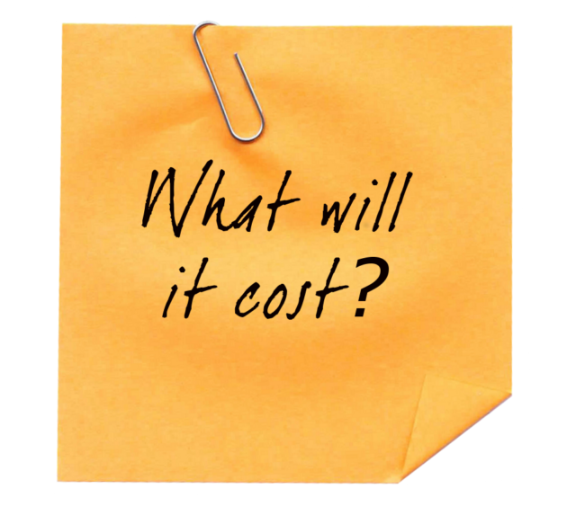 What will it cost? - Just Plain Agile