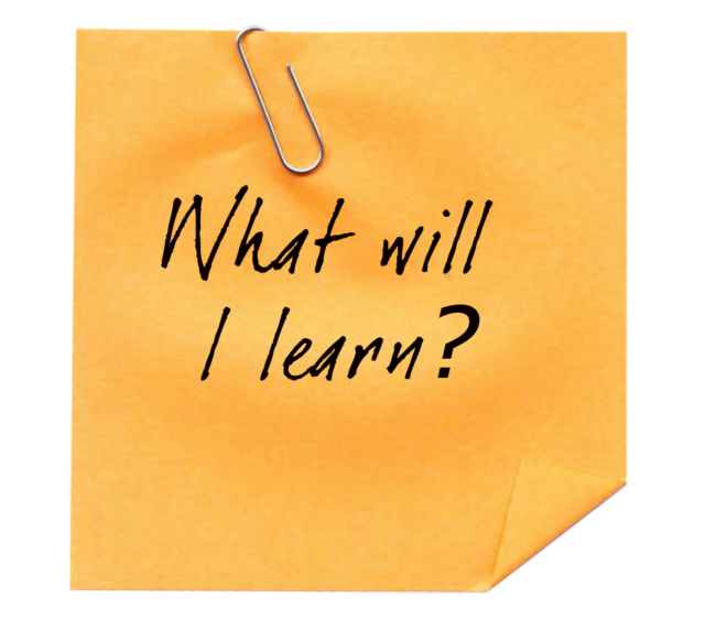 What will I learn? - Just Plain Agile