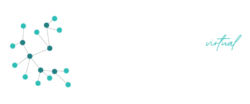 Agile Coaching VIRTUAL logo vector white smaller