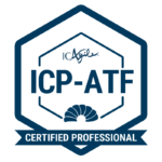 Badge for ICP-ATF Agile Team Facilitation Certification from ICAgile