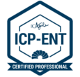 Badge ICP-ENT Agility in the Enterprise Certification from ICAgile for enterprise agile coach teaching
