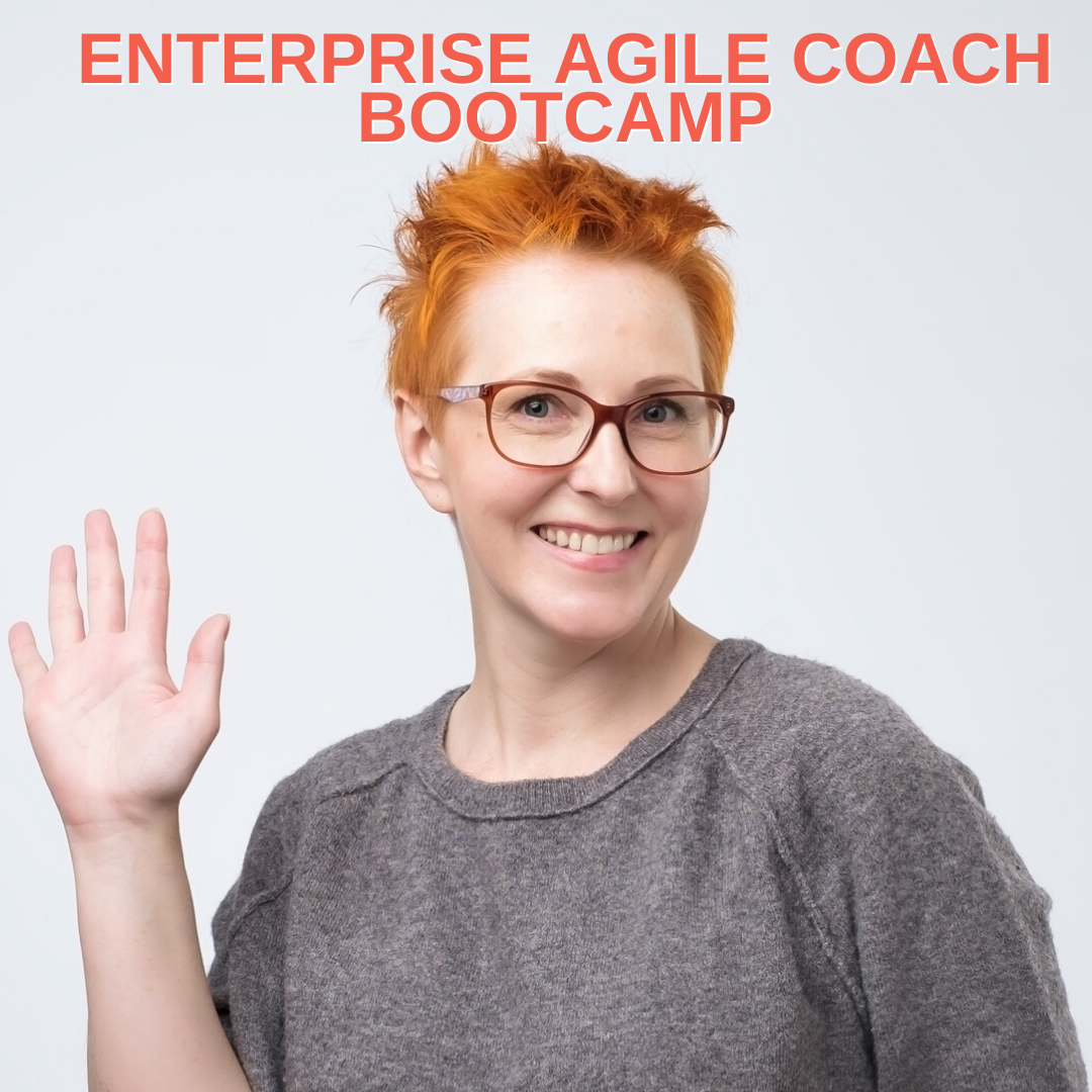 Enterprise Agile Coach Bootcamp teaching