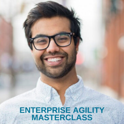 Enterprise Agility Masterclass teaching