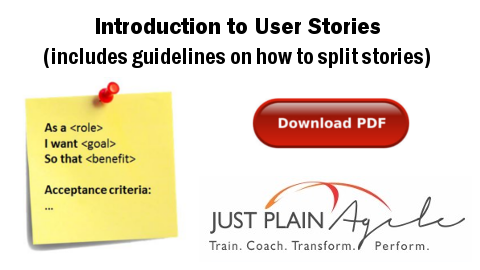 User Story Primer at Business Analysis Summit Southern Africa (BASSA) 2014 (Antoinette Coetzee) - linked to downloadable PDF on Introduction to User Stories